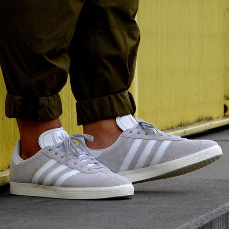 عکس محصول کفش مردانه آدیداس مدل Gazelle - Gray