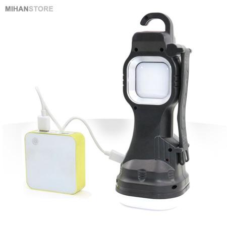 چراغ قوه چند کاره خورشیدی اورجینال , Multi Function Working Lamp