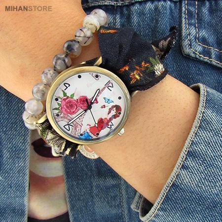 ساعت مچی دخترانه ترنج