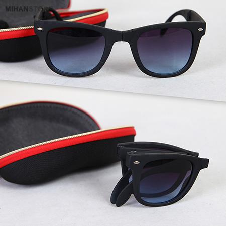 عینک آفتابی ریبن تاشو مدل Folding ray-bon sunglasses model B-18