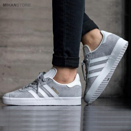 کفش مردانه آدیداس مدل Gazelle - Gray