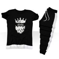 خرید پستی ست تی شرت و شلوار King اصل