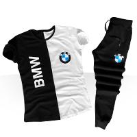 خرید پستی ست تی شرت و شلوار BMW اصل