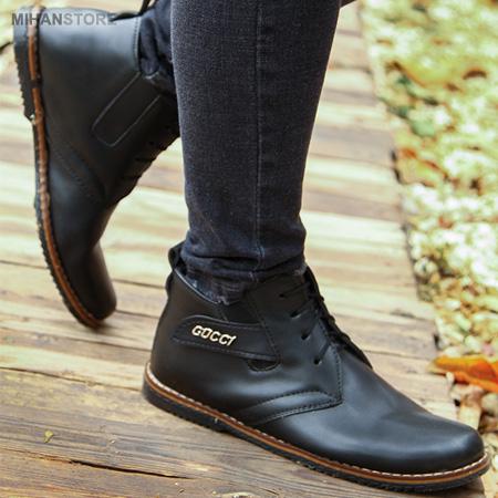 عکس محصول کفش چرم مردانه Gucci مدل Premium